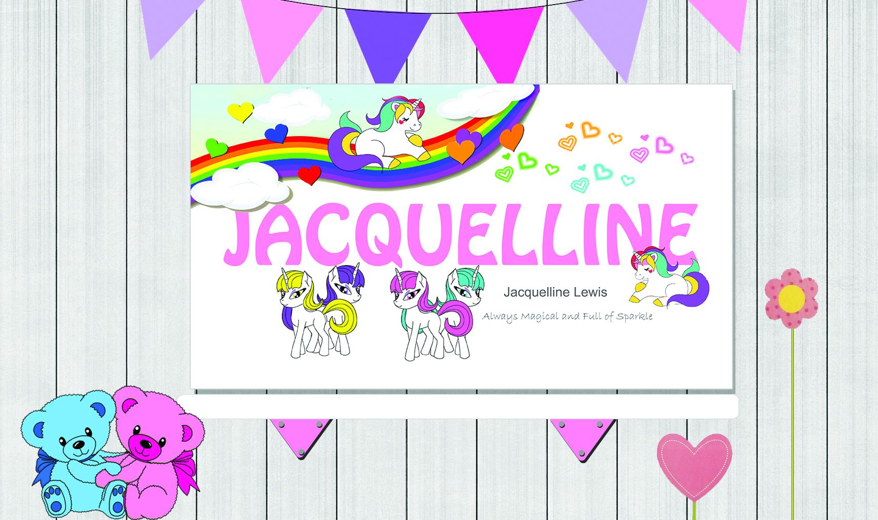 Background Girl PSD Unicorn